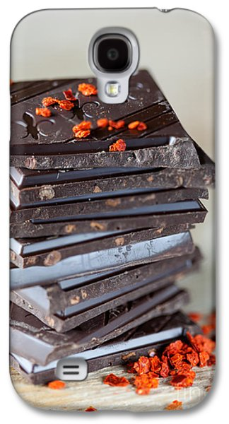 Ties Galaxy S4 Cases - Chocolate and Chili Galaxy S4 Case by Nailia Schwarz