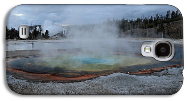 Chromatic Galaxy S4 Cases - Chromatic pool Yellowstone Galaxy S4 Case by Pierre Leclerc Photography