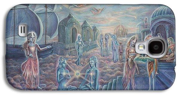 City Of Healing Dreams Galaxy S4 Case by Vera Atlantia