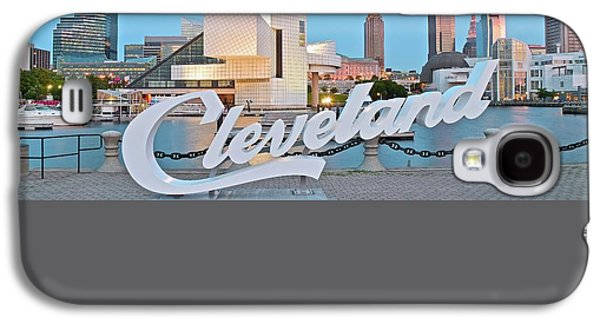 Cleveland Ohio Galaxy S4 Case by Frozen in Time Fine Art Photography