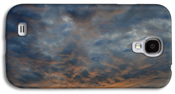 Nature Abstracts Galaxy S4 Cases - Clouds Lit In Pink 2  Galaxy S4 Case by Lyle Crump
