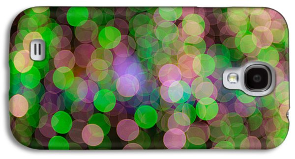 Nature Abstract Galaxy S4 Cases - Colorful Circles of Light Galaxy S4 Case by Joye Ardyn Durham