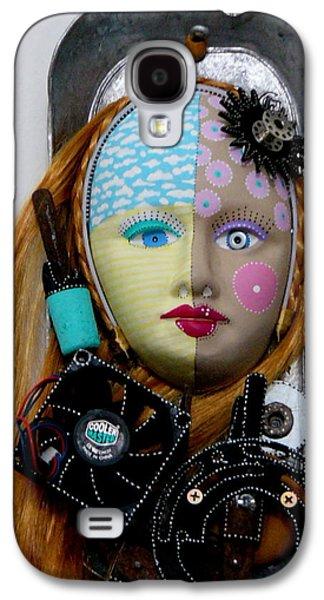 Original Sculptures Galaxy S4 Cases - Cool And Level Headed Galaxy S4 Case by Keri Joy Colestock
