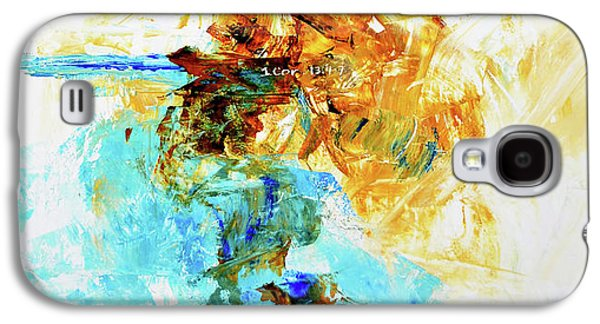 1 Corinthians  Galaxy S4 Case by Ivan Guaderrama
