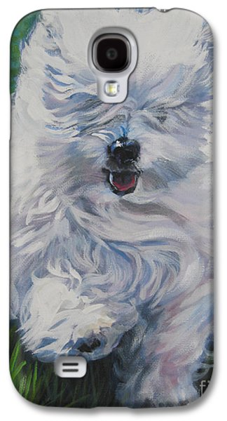 Coton Galaxy S4 Cases - Coton De Tulear  Galaxy S4 Case by Lee Ann Shepard