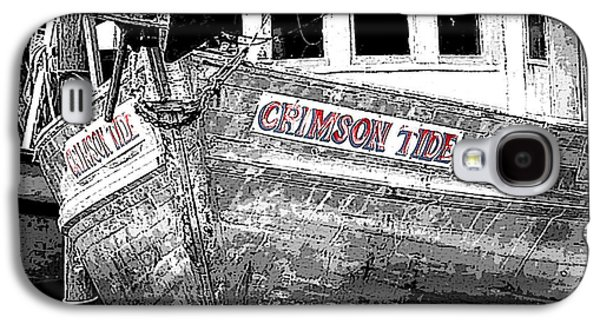 Crimson Tide Galaxy S4 Cases - Crimson Tide Galaxy S4 Case by Michael Thomas