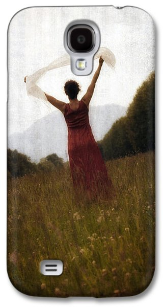 Shawl Galaxy S4 Cases - Dancing Galaxy S4 Case by Joana Kruse
