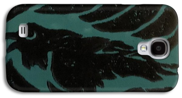 Darcy's Crow Galaxy S4 Case by Erika Chamberlin