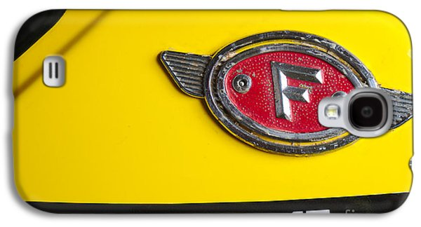 Component Photographs Galaxy S4 Cases - Classic Zundapp bike XF-17 gas tank logo detail Galaxy S4 Case by Angelo DeVal