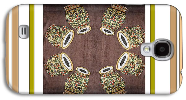 Business Galaxy S4 Cases - DHOLAK Dance Drum Ethnic Indian popular Drum dance equipment Galaxy S4 Case by Navin Joshi
