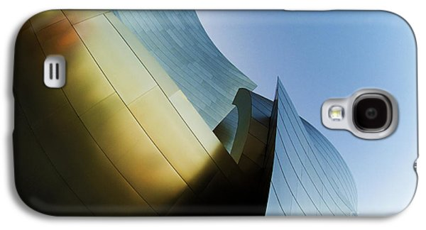 Metal Sheet Galaxy S4 Cases - Disney Concert Hall 9 Galaxy S4 Case by Micah May