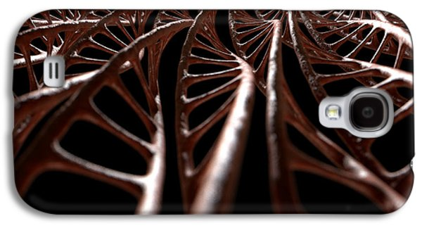 Helix Galaxy S4 Cases - DNA Strand Micro Galaxy S4 Case by Allan Swart