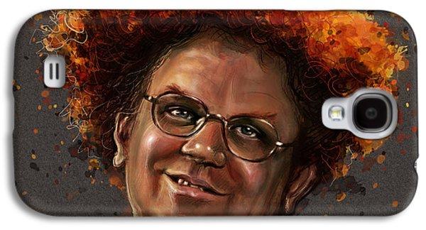 Celebrities Galaxy S4 Cases - Dr. Steve Brule  Galaxy S4 Case by Fay Helfer