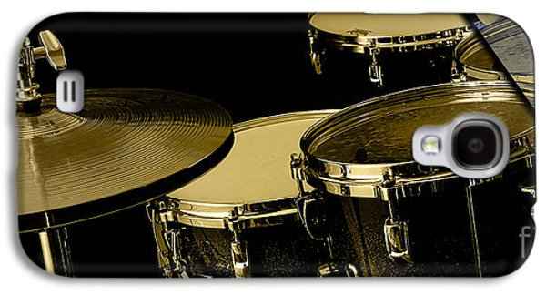 Drums Collection Galaxy S4 Case by Marvin Blaine