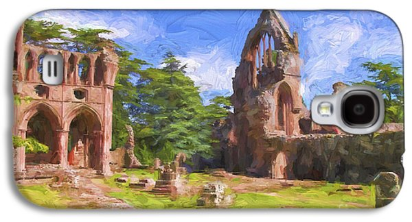 Old Relics Galaxy S4 Cases - Dryburgh abbey Galaxy S4 Case by Patricia Hofmeester