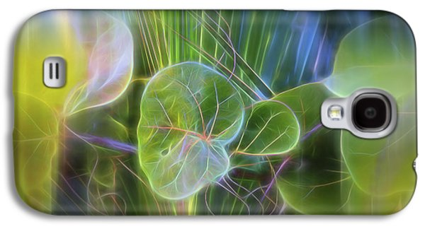 Grapes Art Deco Galaxy S4 Cases - Eden Galaxy S4 Case by Evie Carrier