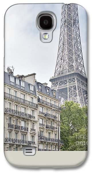 Gas Lamp Photographs Galaxy S4 Cases - Eiffel Tower Galaxy S4 Case by Ivy Ho
