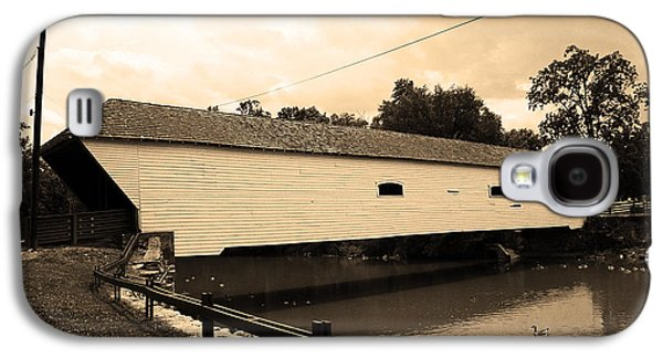 Business Galaxy S4 Cases - Elizabethton TN - Covered Bridge 2008 Galaxy S4 Case by Frank Romeo