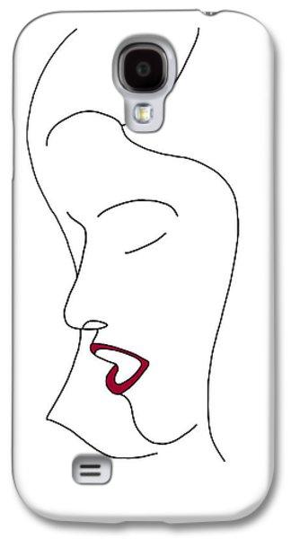 Fashion Sketch Galaxy S4 Case by Frank Tschakert