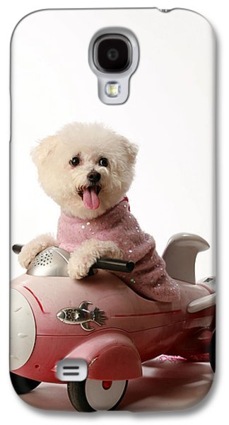 Michael Sweet Galaxy S4 Cases - Fifi loves her rocket car  Galaxy S4 Case by Michael Ledray