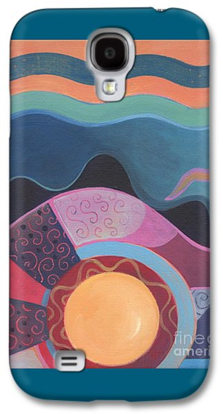 Flow Galaxy S4 Case by Helena Tiainen