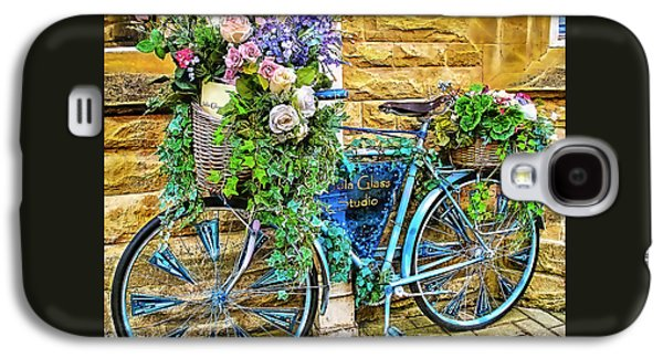 Flower Bike Collection Galaxy S4 Case by Marvin Blaine