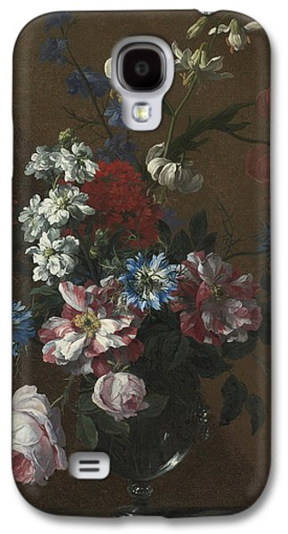 1636 Paintings Galaxy S4 Cases - Flowers Galaxy S4 Case by Celestial Images