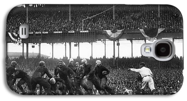 Football Game, 1925 Galaxy S4 Case by Granger