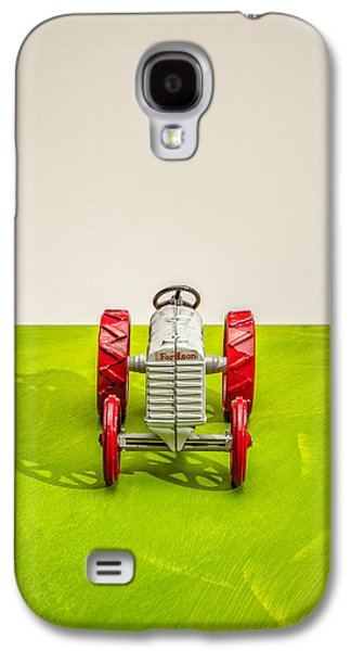 Machinery Galaxy S4 Cases - Fordson Tractor Front Galaxy S4 Case by Yo Pedro