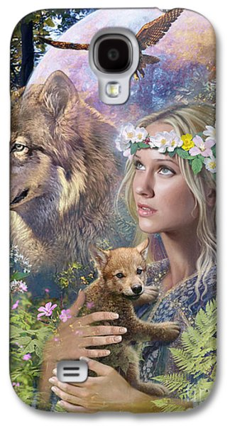Forest Friends Galaxy S4 Case by Steve Read