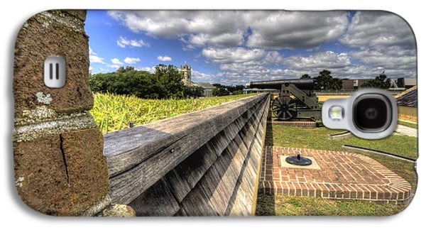 Sullivan Galaxy S4 Cases - Fort Moultrie Cannon Galaxy S4 Case by Dustin K Ryan