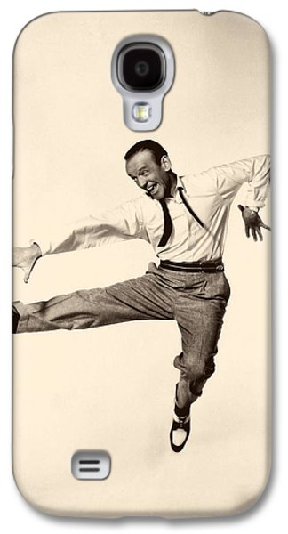 1955 Movies Photographs Galaxy S4 Cases - Fred Astaire In Daddy Long Legs 1955 Galaxy S4 Case by Mountain Dreams