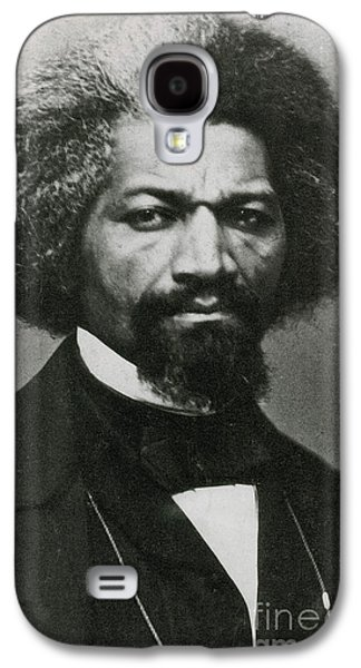 Reformer Galaxy S4 Cases - Frederick Douglass, African-american Galaxy S4 Case by Photo Researchers