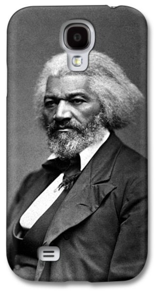 African-american Galaxy S4 Cases - Frederick Douglass Galaxy S4 Case by War Is Hell Store