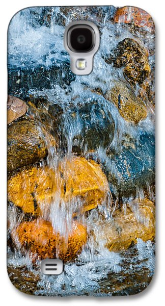 Abstracts Galaxy S4 Cases - Fresh Water Galaxy S4 Case by Alexander Senin