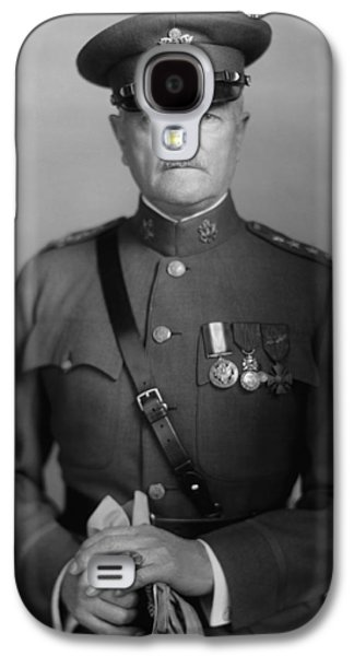 Americans Galaxy S4 Cases - General John Pershing Galaxy S4 Case by War Is Hell Store