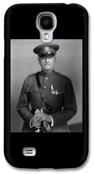 Black History Galaxy S4 Cases - General John Pershing Galaxy S4 Case by War Is Hell Store