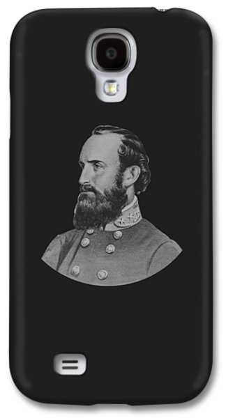 America Mixed Media Galaxy S4 Cases - General Stonewall Jackson Galaxy S4 Case by War Is Hell Store