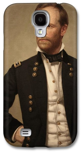 The Americas Galaxy S4 Cases - General William Tecumseh Sherman Galaxy S4 Case by War Is Hell Store