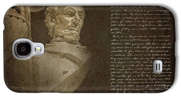 Gettysburg Address Galaxy S4 Case by Diane Diederich
