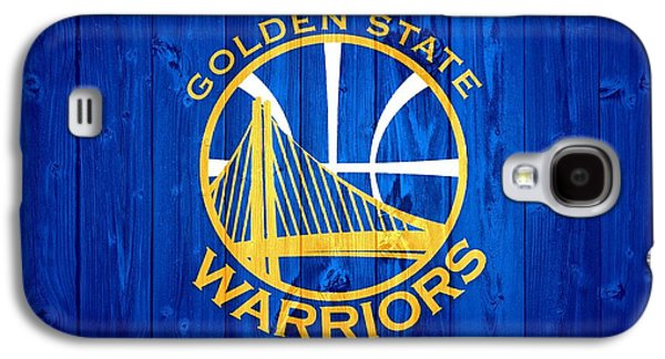 Nba Championship Galaxy S4 Cases - Golden State Warriors Barn Door Galaxy S4 Case by Dan Sproul