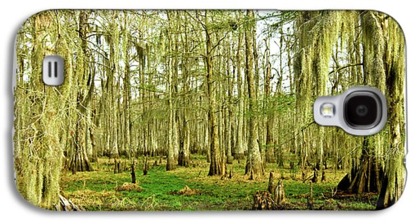 Cypress Swamp Galaxy S4 Cases - Grand Bayou Swamp  Galaxy S4 Case by Scott Pellegrin