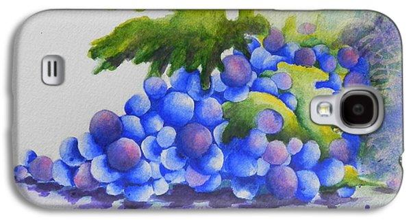 Grapes Galaxy S4 Case by Chrisann Ellis