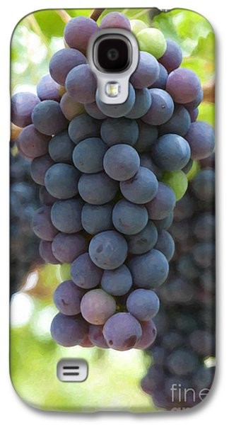 Grape Vine Galaxy S4 Cases - Grapes on the Vine Galaxy S4 Case by Tim Gainey