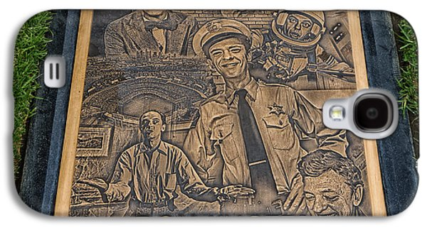 Andy Griffith Show Galaxy S4 Cases - Gravesite Of Don Knotts - Westwood Cemetery Galaxy S4 Case by Mountain Dreams