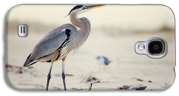 Great Blue Heron  Galaxy S4 Case by Joan McCool