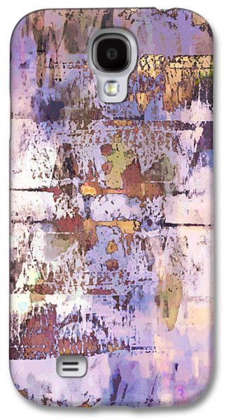 Grungy Abstract  Galaxy S4 Case by Tom Gowanlock