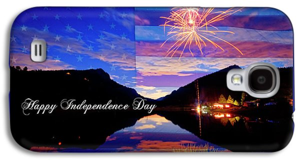 Happy Independence Day Galaxy S4 Case by James BO Insogna