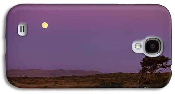 Harvest Moon Over Bodega Bay Galaxy S4 Case by Diane Diederich