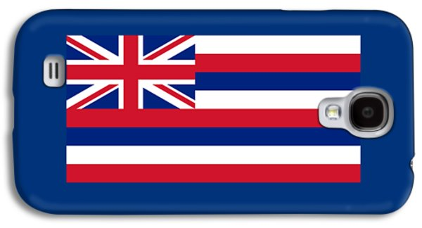 Waving Flag Mixed Media Galaxy S4 Cases - Hawaii Flag Galaxy S4 Case by Frederick Holiday
